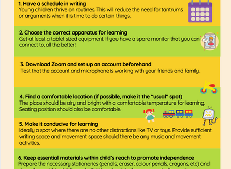 Parents' Survival Guide for Home based learning