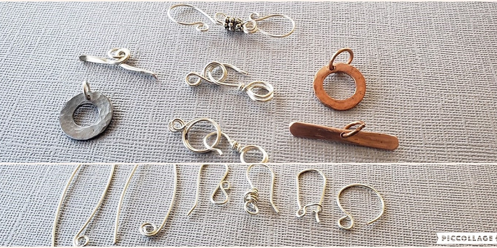 Ear Wires and Clasps $35 December