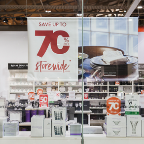 ROYAL DOULTON OUTLET SHOP - UP TO 70% OFF STOREWIDE