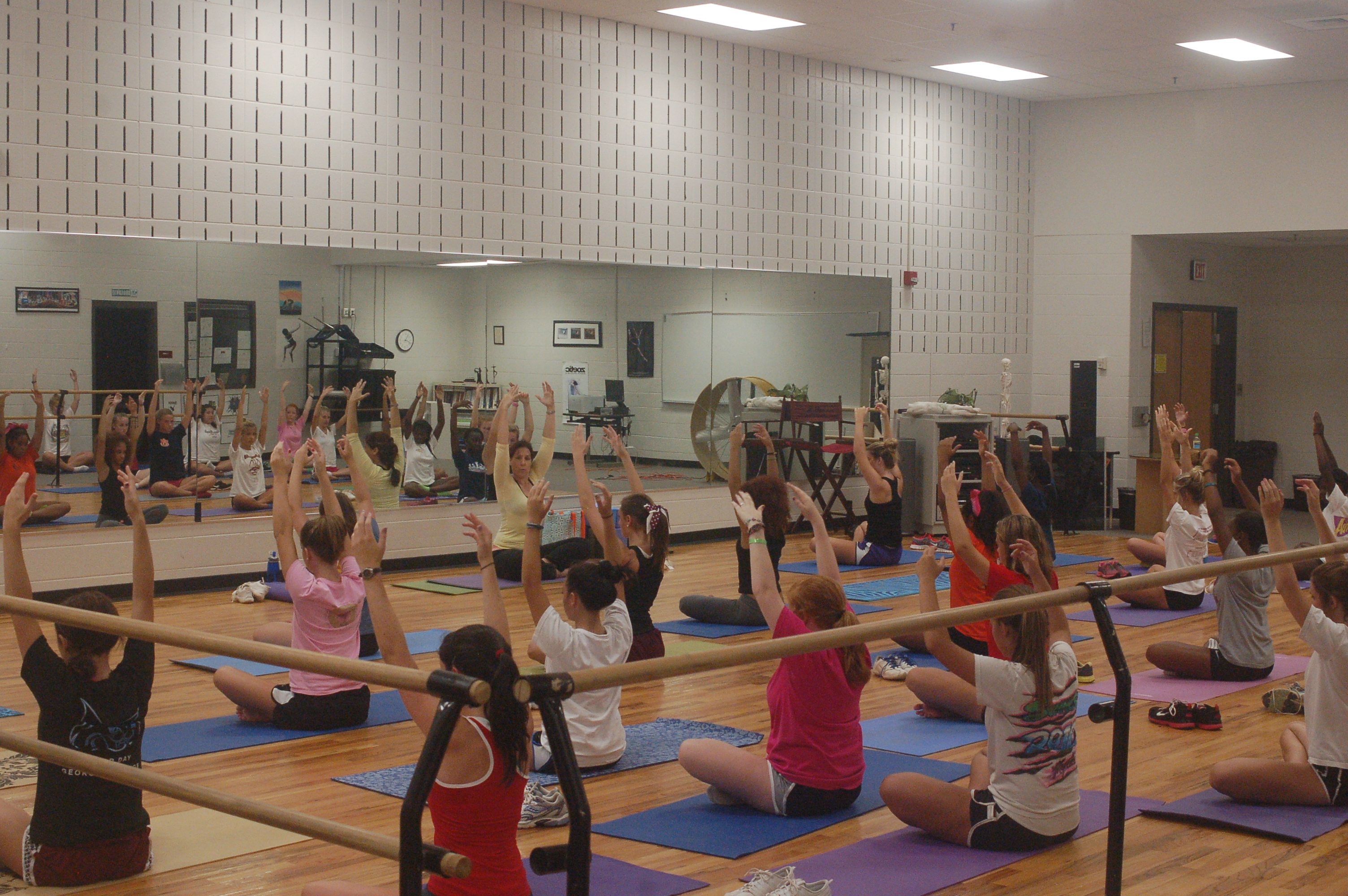 yoga cheer camp 2