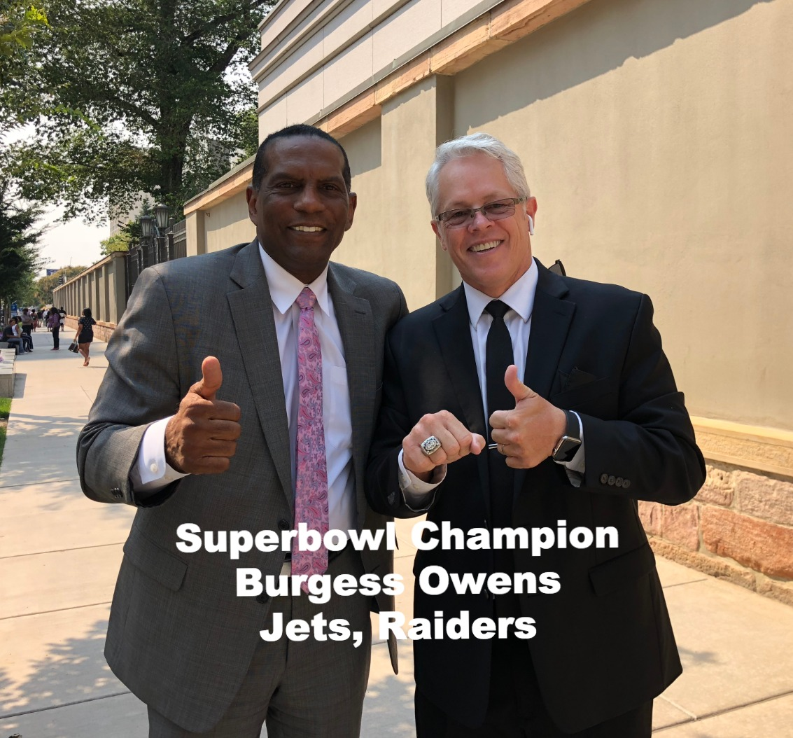 Superbowl Champion Burgess Owens August