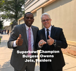 Superbowl Champion Burgess Owens August