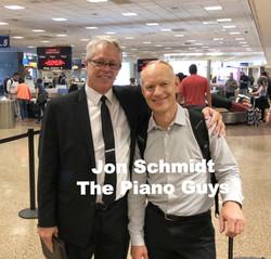 Jon Schmidt from The Piano Guys August 2