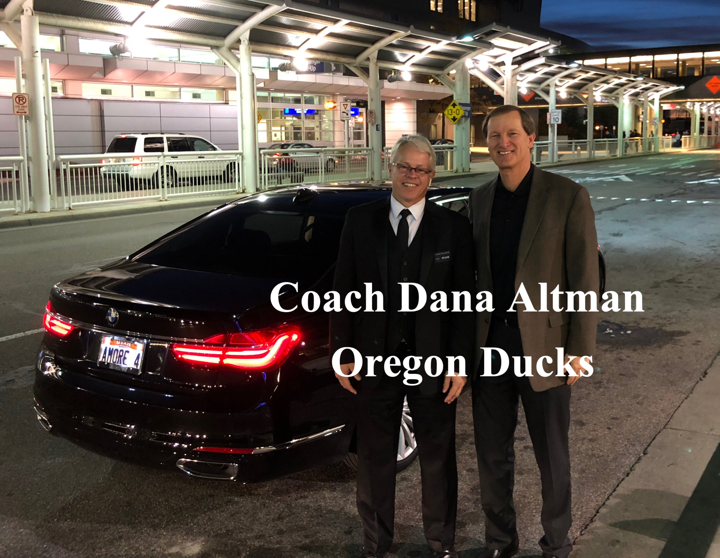 Coach Dana Altman Oregon Ducks Amore Tra