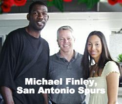 Michael Finley of the San Antonio Spurs_
