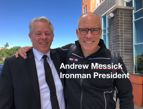 Andrew Messick - Ironman President