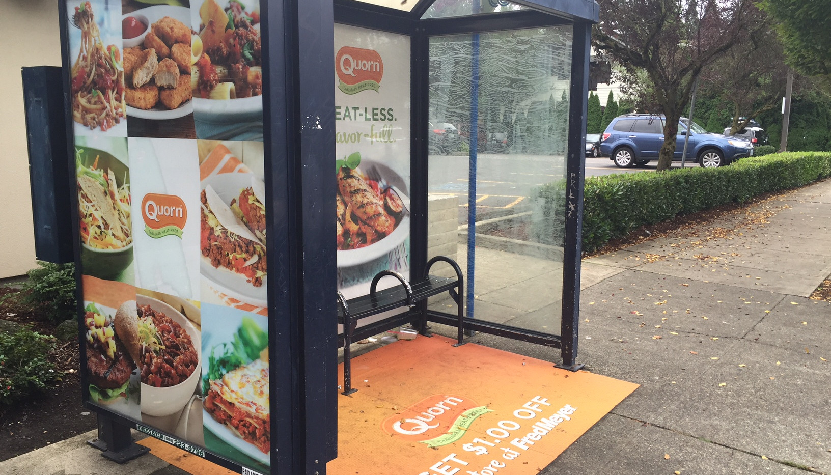 Quorn bus shelter.JPG