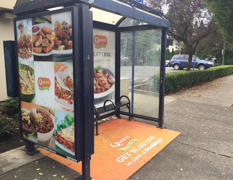 Quorn bus shelter.JPG