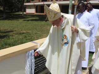 Nuncio visits St. Peter's Regional Seminary