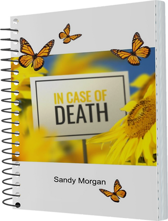 In Case of Death Cover 3D Spiral Sandy M