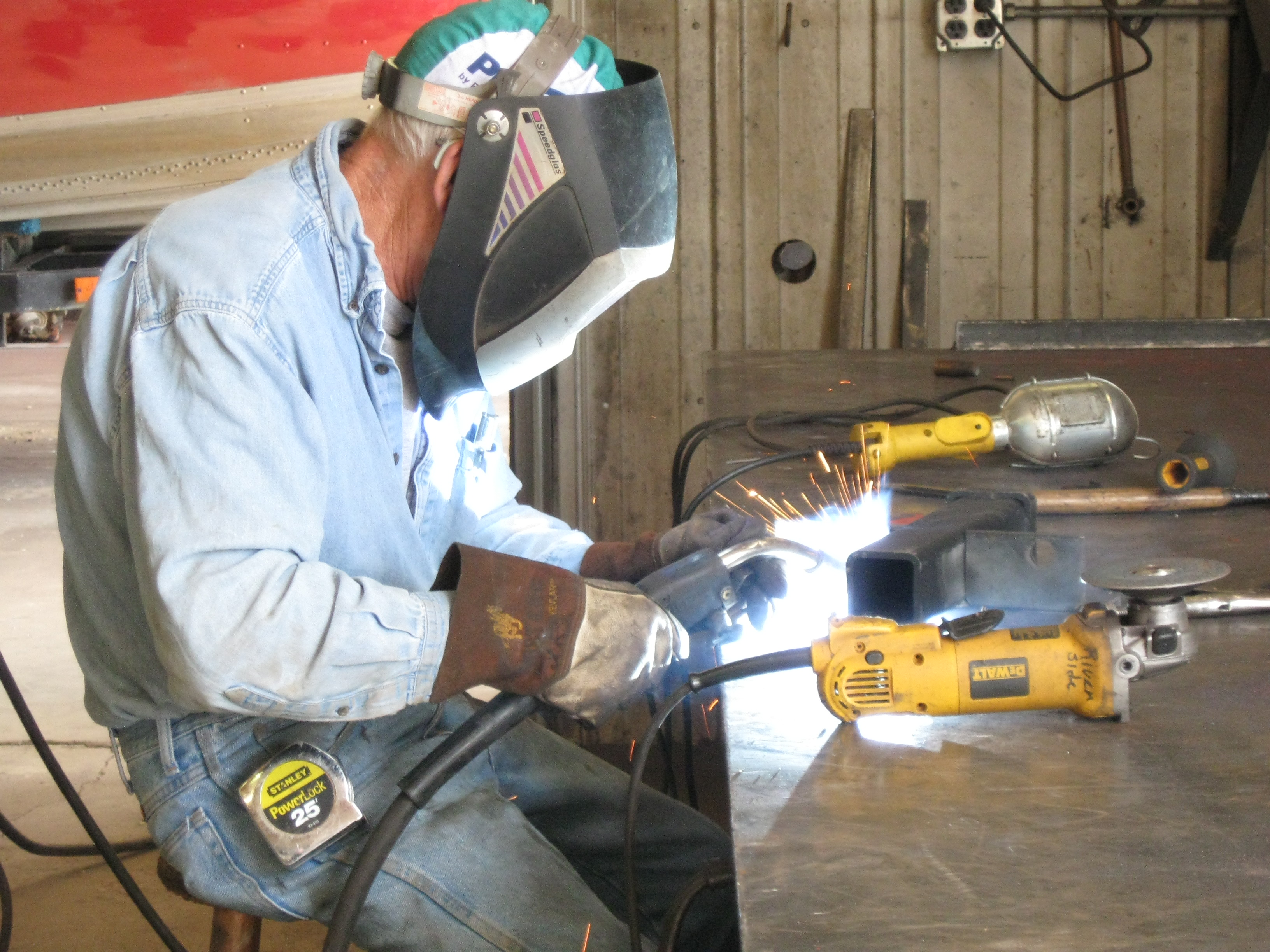 Welding and Finishing