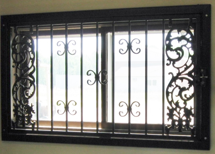 Decorative Window Security