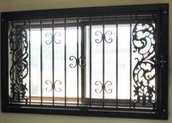 Decorative Window Security