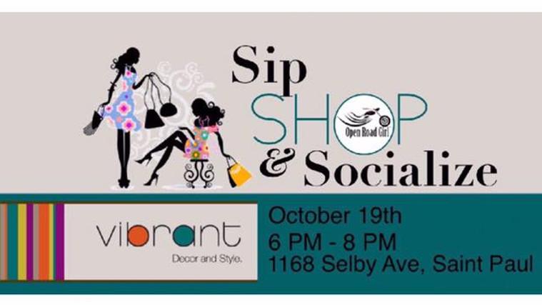 St. Paul, MN Sip, Shop, Socialize
