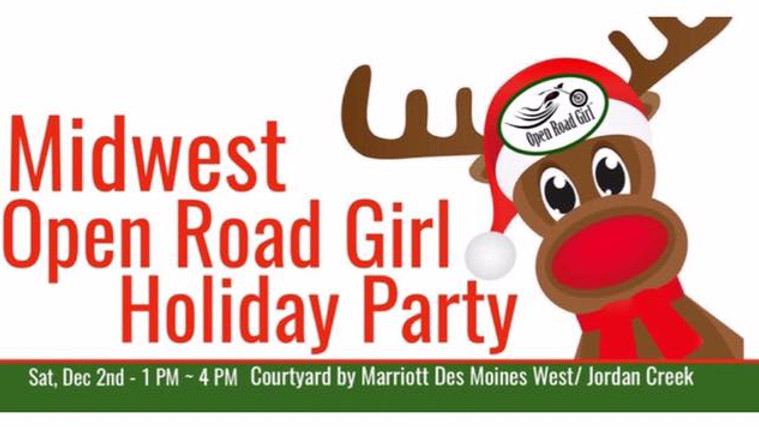 Midwest Open Road Girl Holiday Party