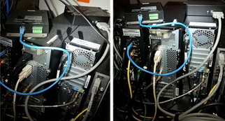 Tech Cabinet Before & After