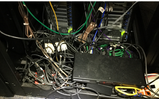 Dirty Cable Managment Nightmare