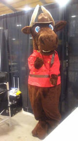 Marty the Mountie Moose