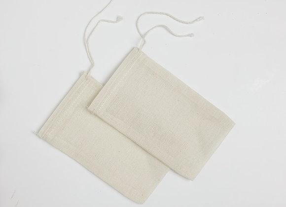 2 Reusable Tea Bags