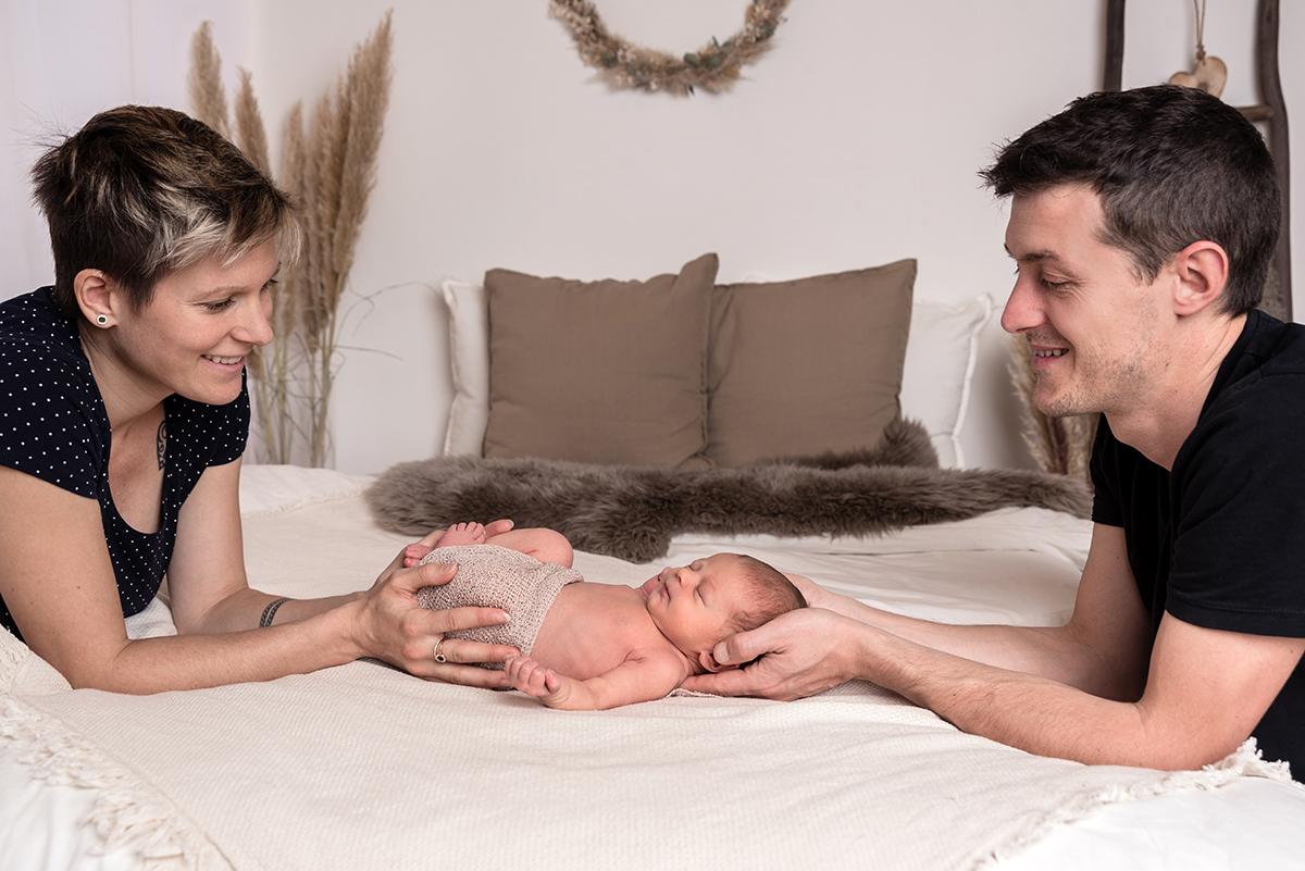 Familie Neugeboren