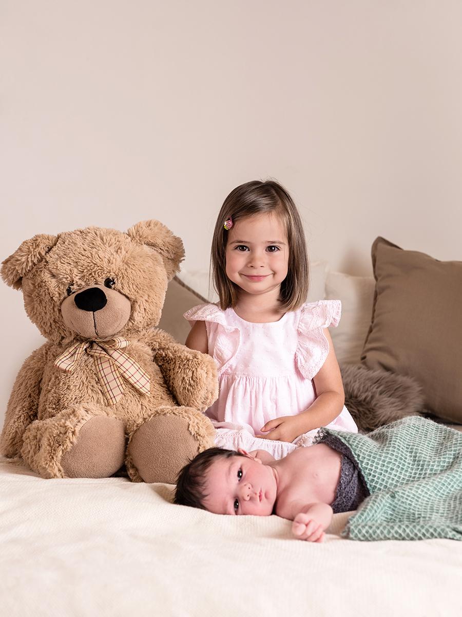 Newborn Geschwister