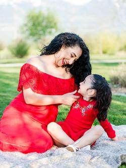 Mama-Tochter Bild