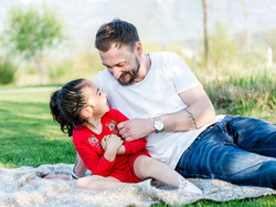 Papa-Tochter Bild