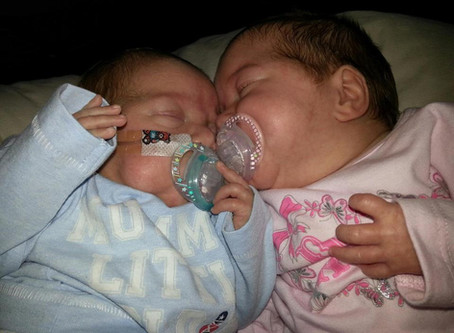 A Few Months Ago I Wrote A Blog About My Thoughts And My Emotions As I Counted Down To My Twin's 1st