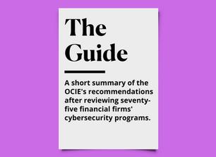 What A Good Cybersecurity Program Looks Like