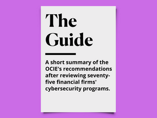 What A Good Cybersecurity Program Looks Like