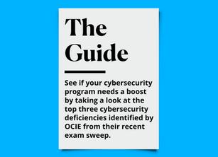 Is Your Cybersecurity Program Deficient?