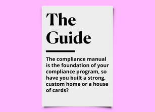 How To Avoid A Generic Compliance Manual