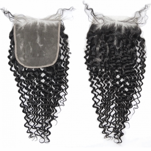 Raw Indian Curly | Lace Closure