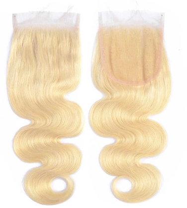 Brazilian Blonde Body Wave   Lace Closure