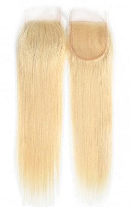 Brazilian Blonde Straight   Lace Closure