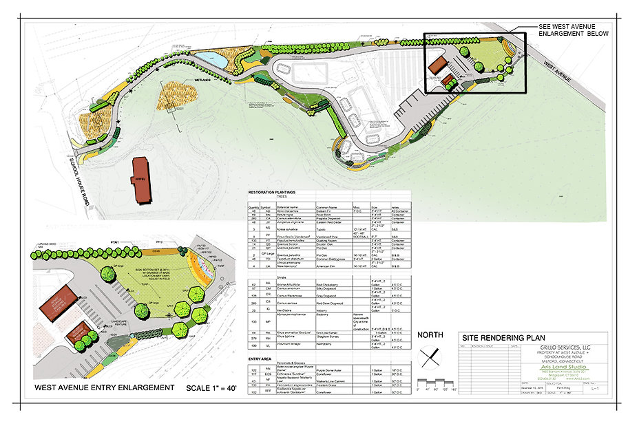 SITE RENDERING of Grillo Services LLP Proposed Recycling Facility