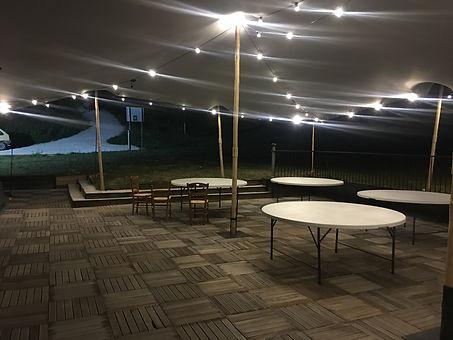 120 mètres carré de terrasse couverte
