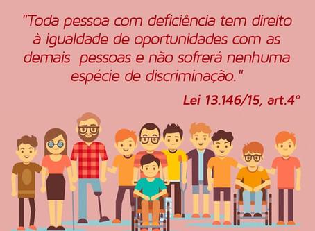 21 de Setembro - Dia Nacional de Luta das Pessoas com Deficiência