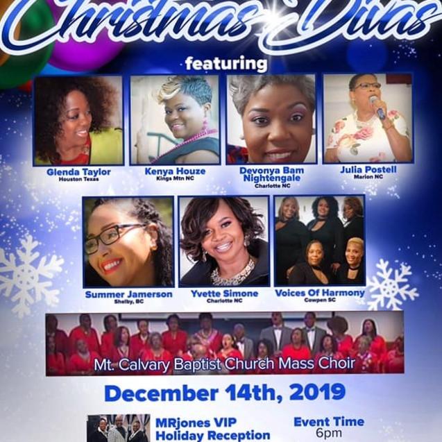 An Evening with Christmas Divas