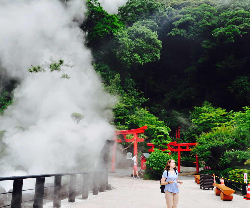 Beppu, Japan, 2016