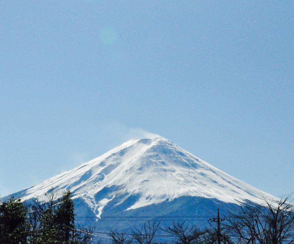 Mount Fuji, 2017