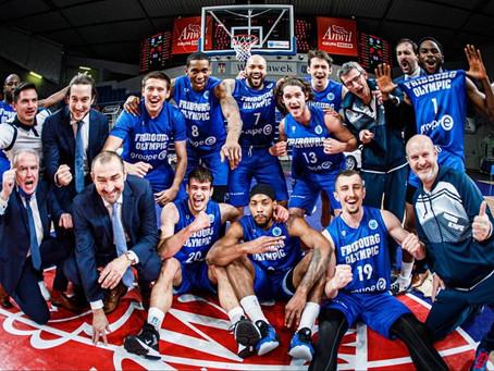 FIBA Europe Cup: Fribourg Olympic bat Anwil (69-86) et créé la sensation