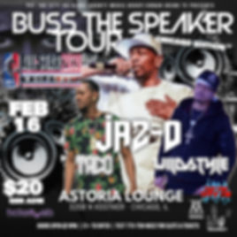 Jaz-O All Star Weekend Buss The Speaker