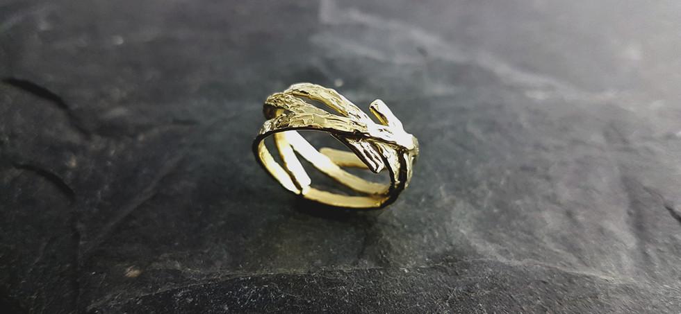 Ring aus 585/- Gelbgold