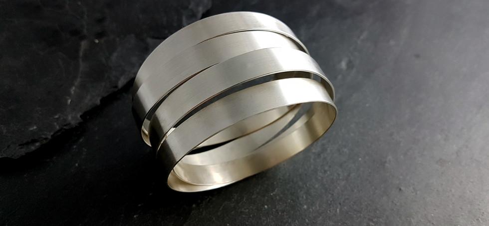 Armreif in 925/- Silber