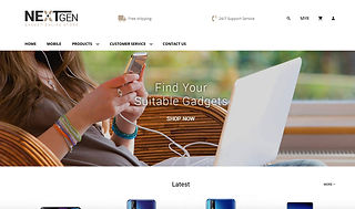 website design sample 12