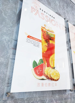 acrylic photo frame poster