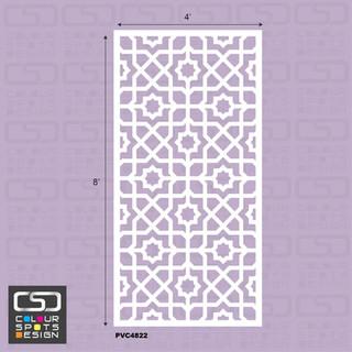 Islamic panel PVC 4822 star 1.jpg