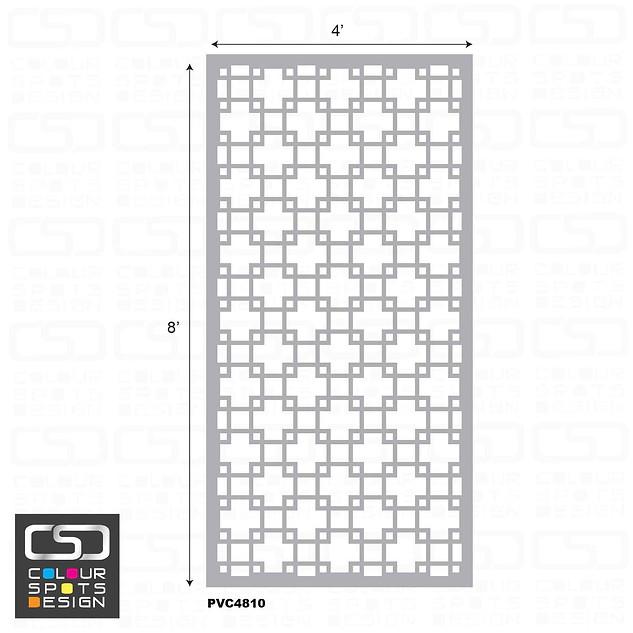 decorative panel PVC 4810