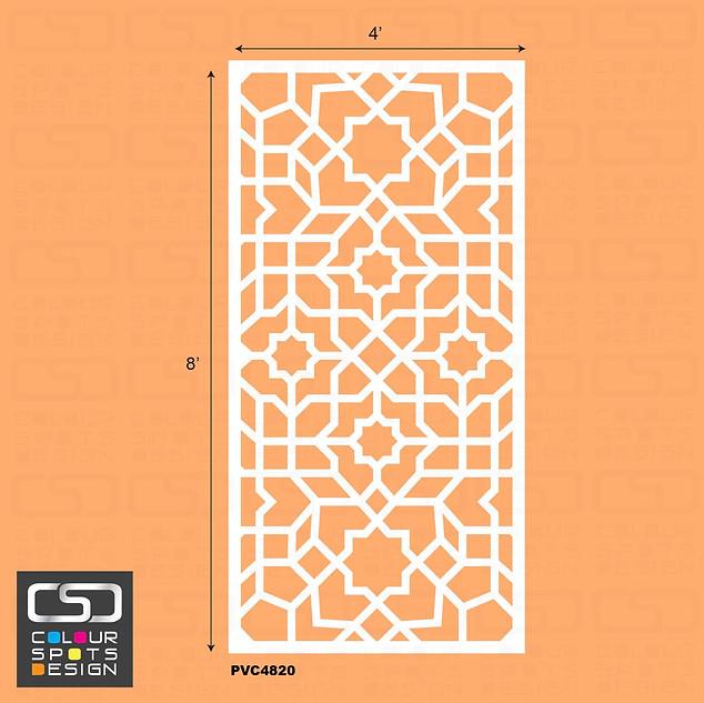 Islamic panel PVC 4820 star 4.jpg
